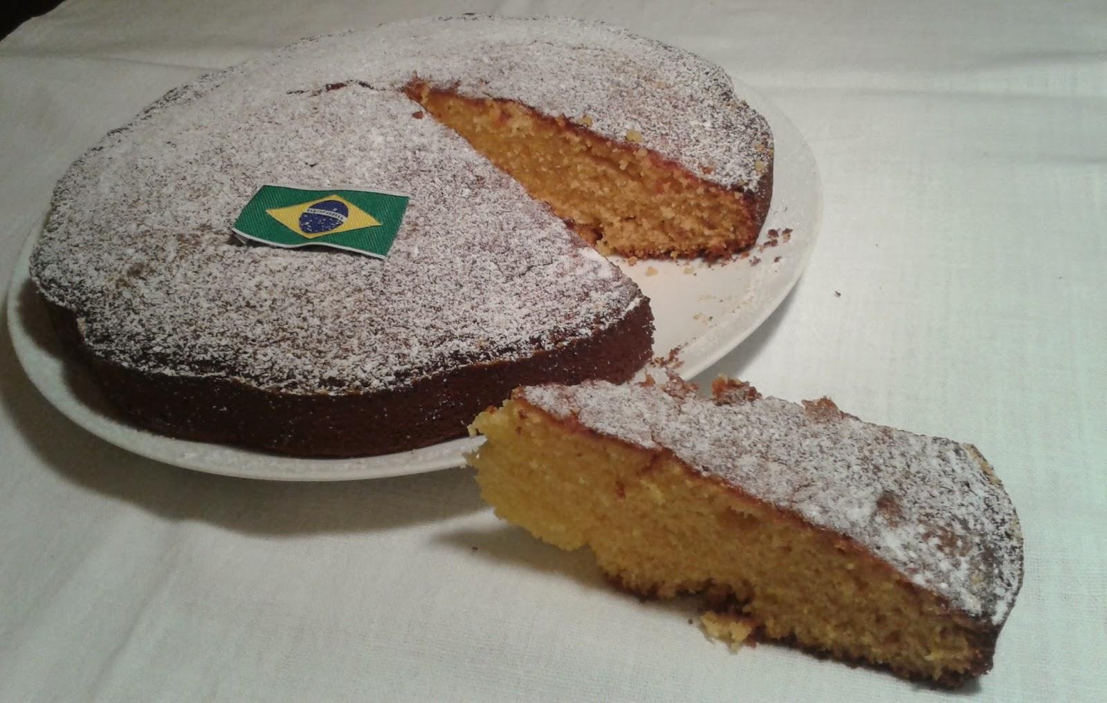 torta di mais ovvero bolo de fubà