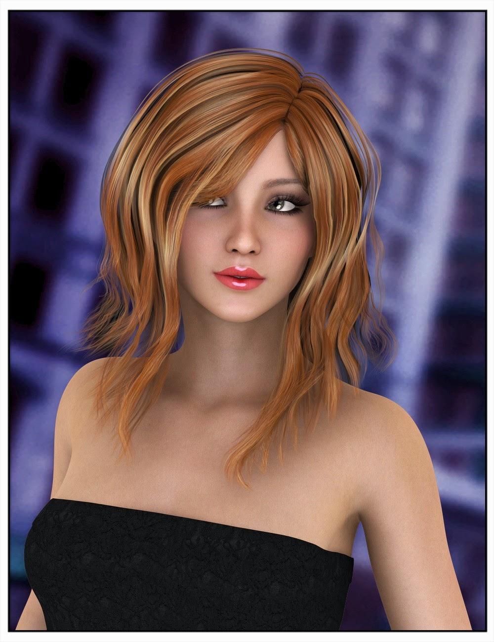 Capucine cheveux