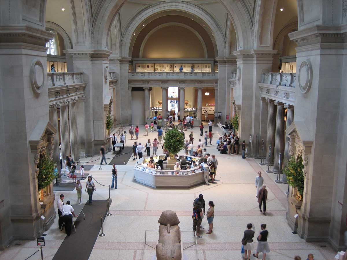More kids than suitcases the metropolitan museum of art for Metropolitan mueseum of art