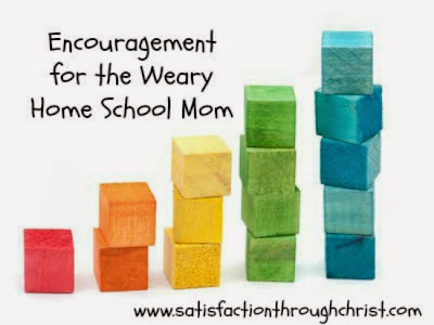 Encouragement for Weary Homeschool Moms