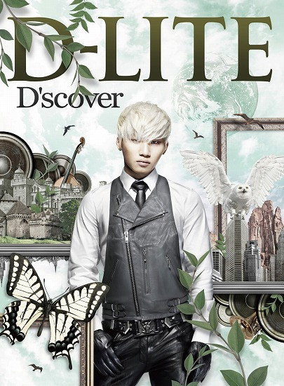 Big Bang's Daesung aka D-Lite D'scover album art