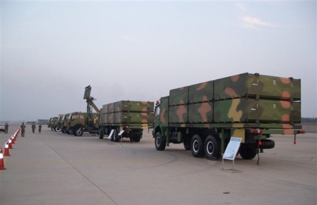 chinese loitering harpy suppression of air defense sead