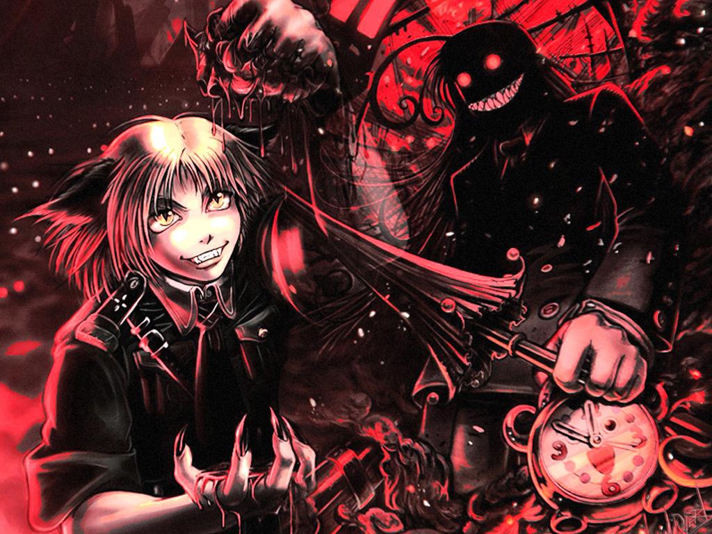 Dibujos gore quotes quotesgram for Imagenes de anime gore