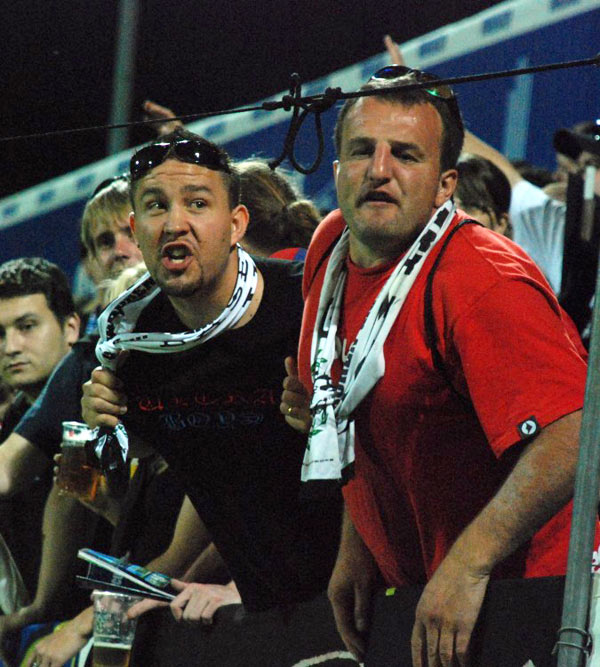 Kibice FC Basel - fot. Tomasz Janus / sportnaukowo.pl