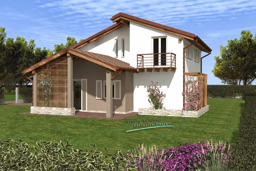 Studio randetti progettazione design villa for Case in bioedilizia chiavi in mano