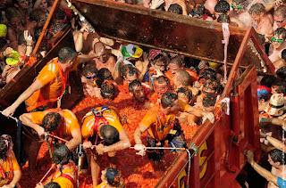 حرب الطماطم - اسبانيا