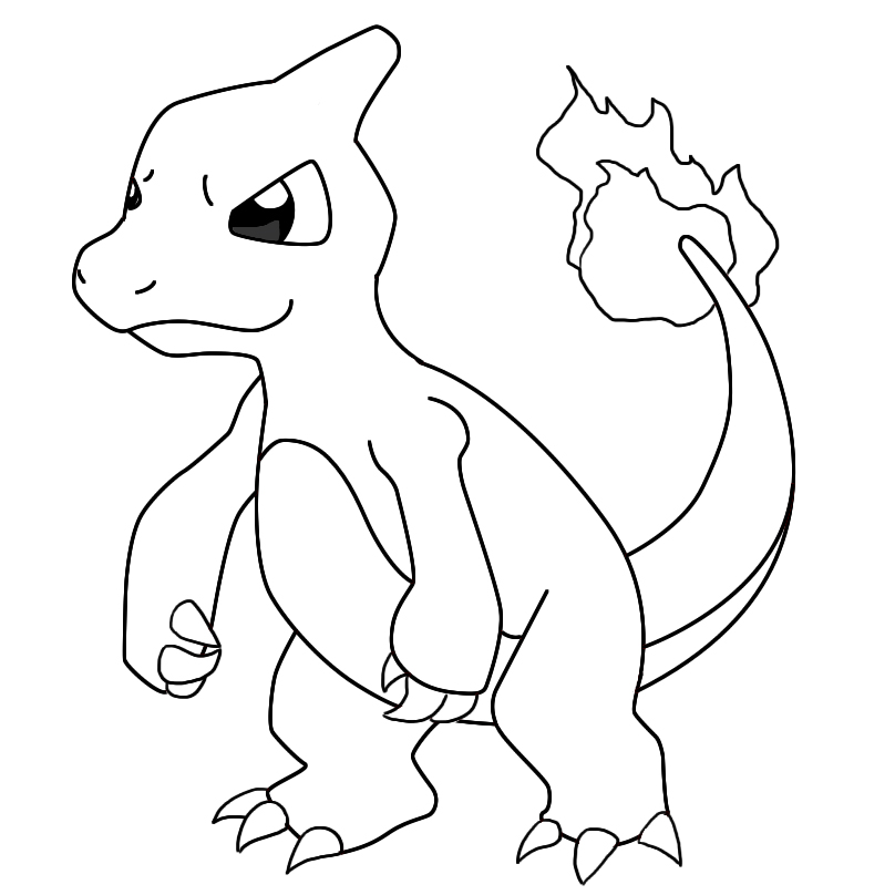 How To Draw Charmeleon - Draw Central
