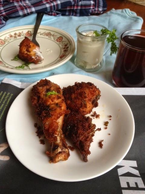 Spiced buttermilk chicken fry|Breaded chicken fry1