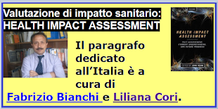VALUTAZIONE DI  IMPATTO SANITARIO,UN NUOVO LIBRO:HEALTH IMPACT ASSESSMENT