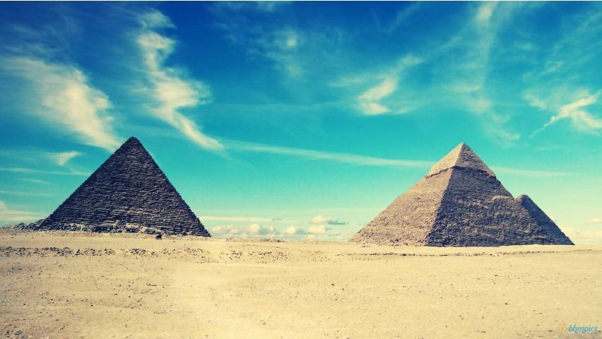 Egyptian Pyramids Nature Scenery