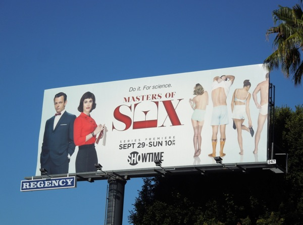 Masters of Sex series premiere billboard