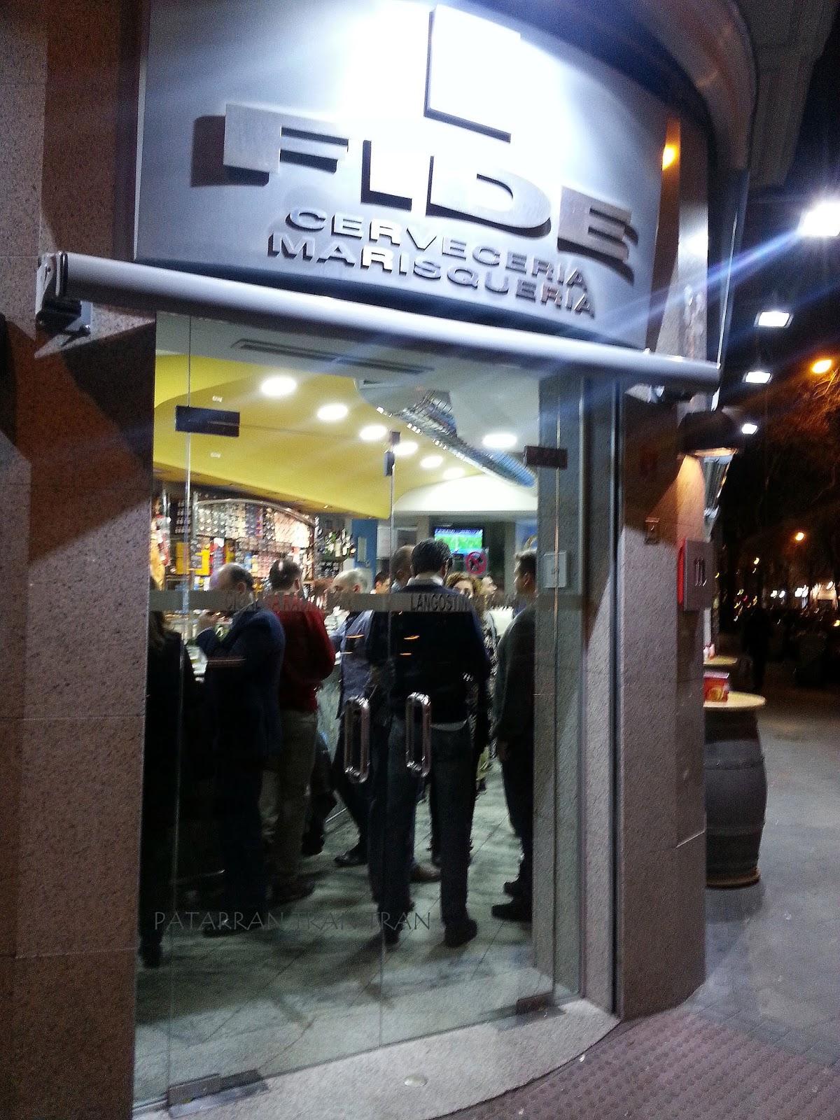 FIDE. Inspeccion Tabernaria. Calle Ponzano y aledaños