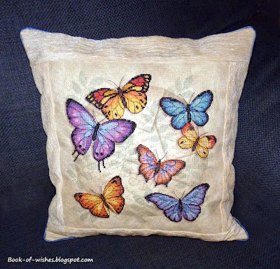 "Pillow ""Butterfly"""