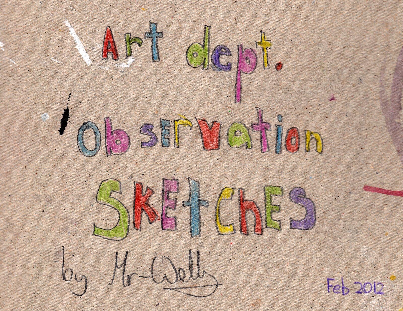 mr wells sketches