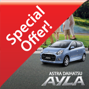 Promo Mobil Murah Daihatsu Ayla Bandung
