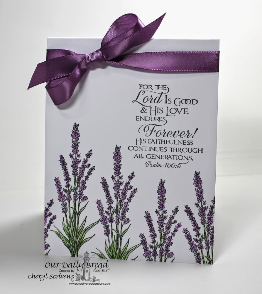 Our Daily Bread Designs, ODBDSLC207, Lavender, Scripture Collection 11, CAS, CherylQuilts, Designed by Cheryl Scrivens
