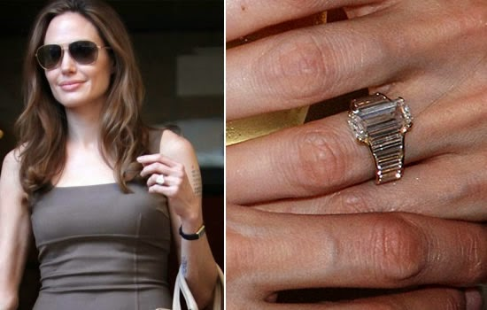 Angelina And Brad Wedding Ring