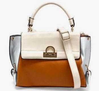 Harlow Denki Top Handle Bag - Warna Coklat