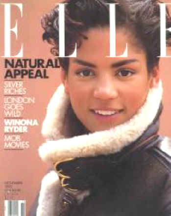 elle magazine, 90s supermodels, black supermodels