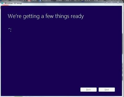 Installing Windows udpate