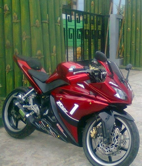 Modifikasi Yamaha Vixion Full Fairing 2013