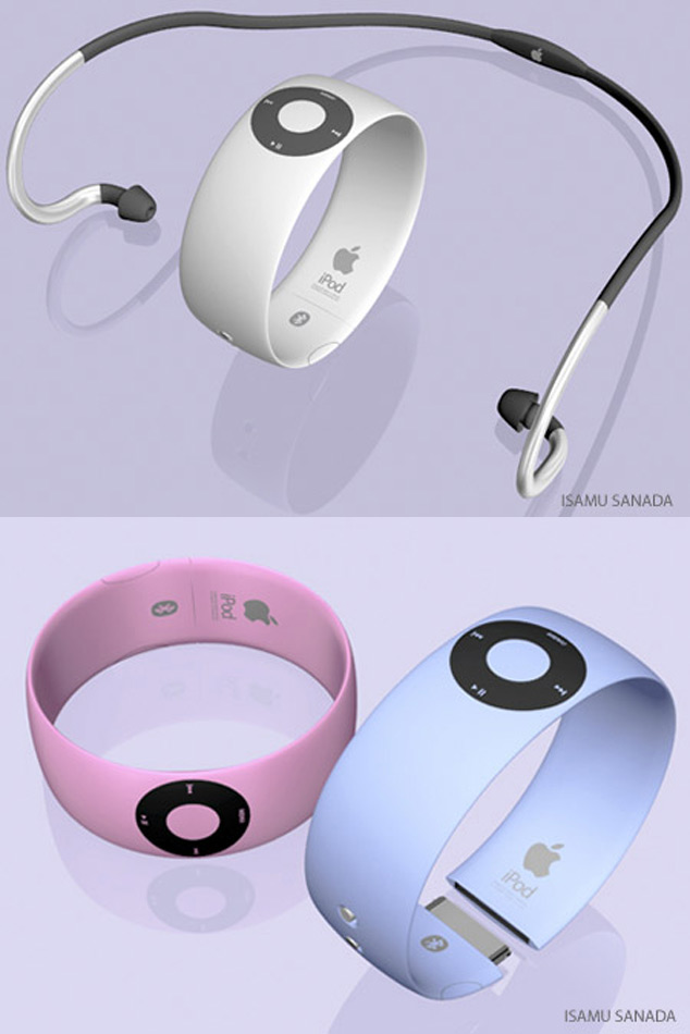 iWatch Shuffle Apple Concept