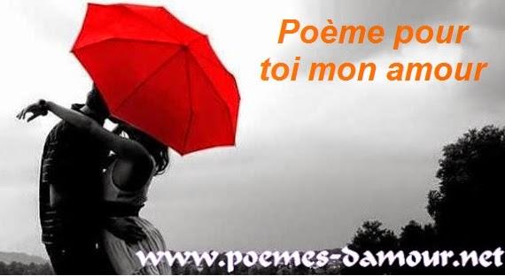 Poème pour toi mon amour