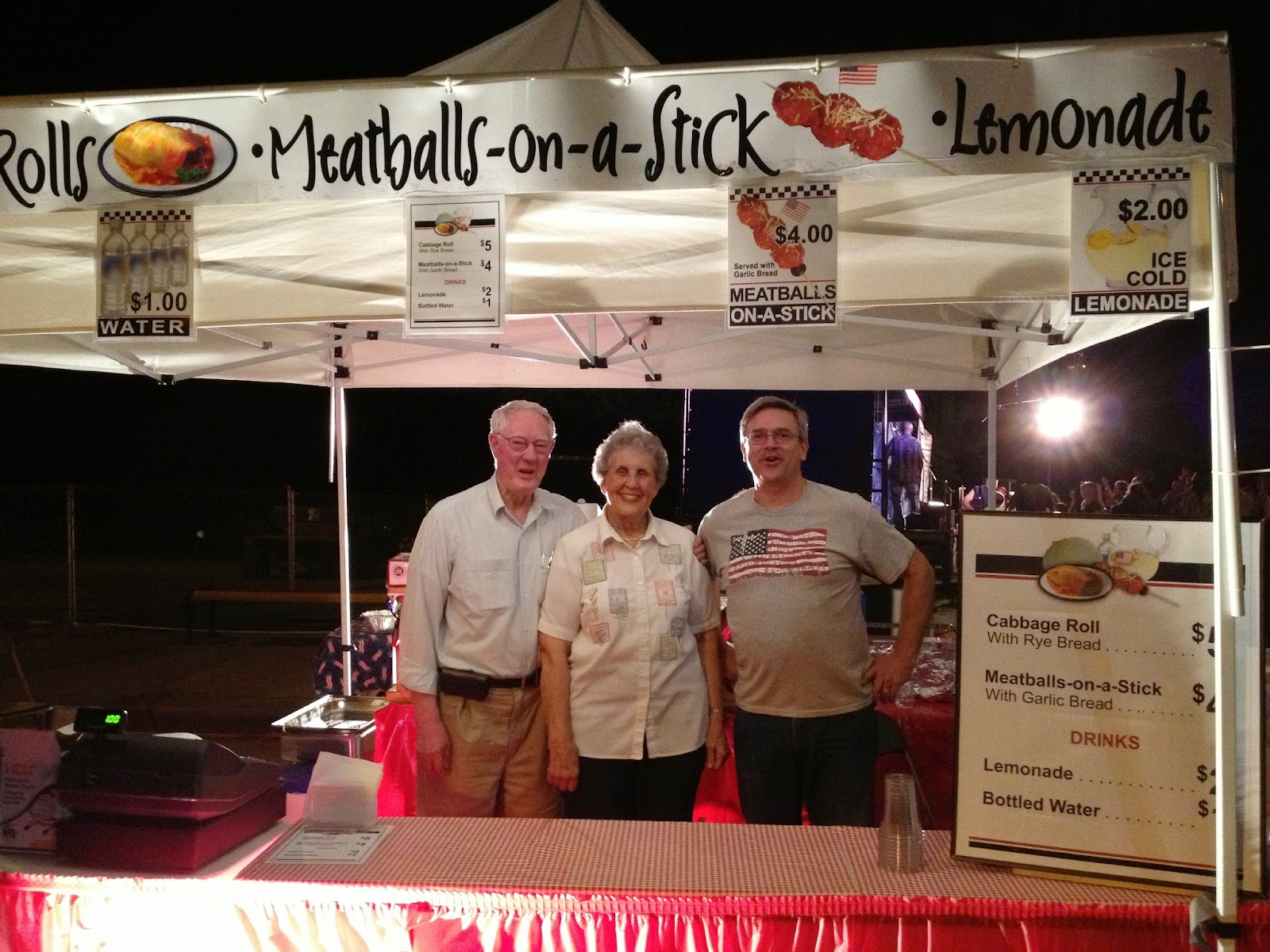 2013 Food Booth at the Corvallis Red, White and Blue Festival - 4th of ...