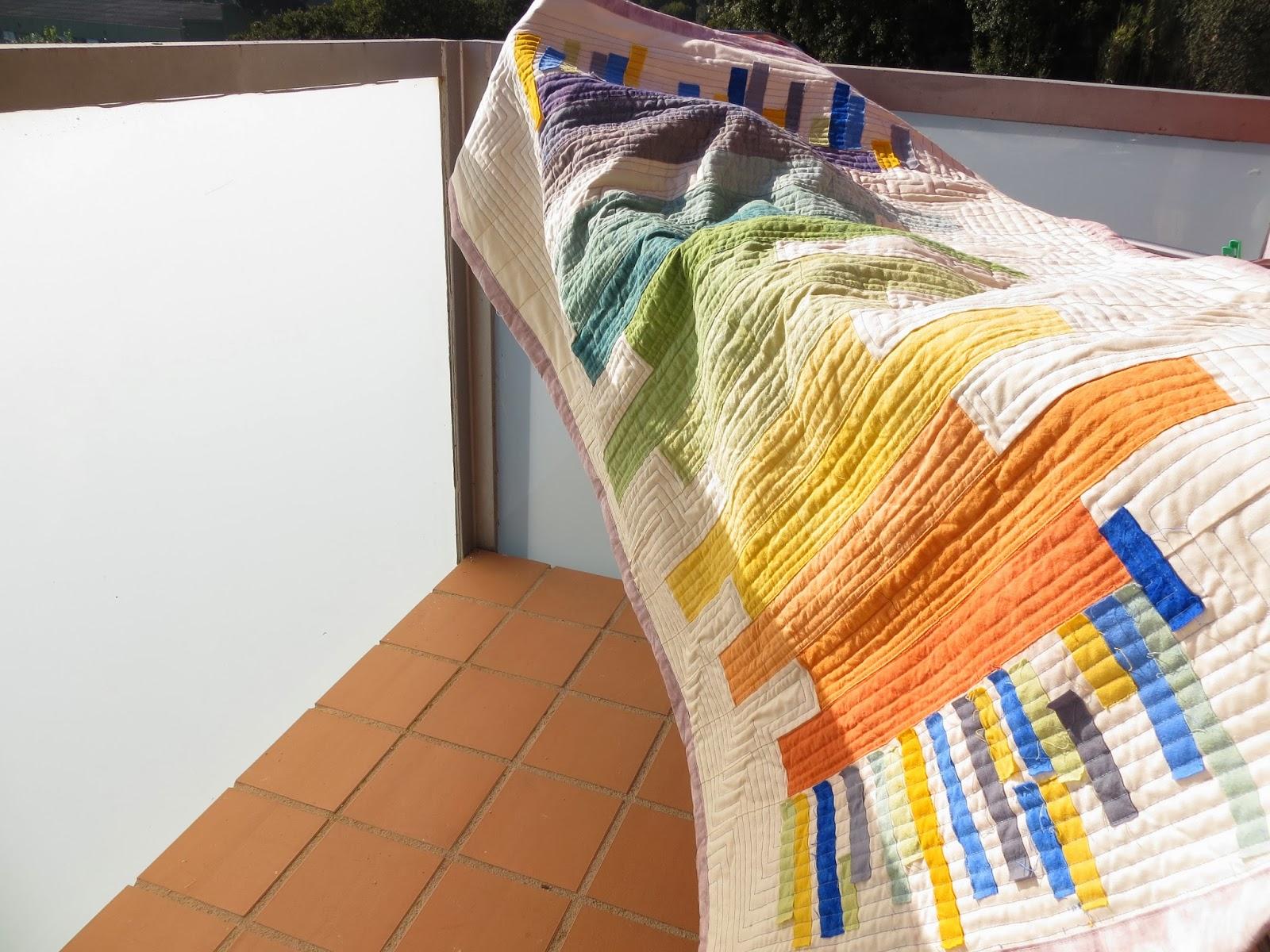Un lloc de patchwork colcha con telas te idas por mi - Tela para colchas ...
