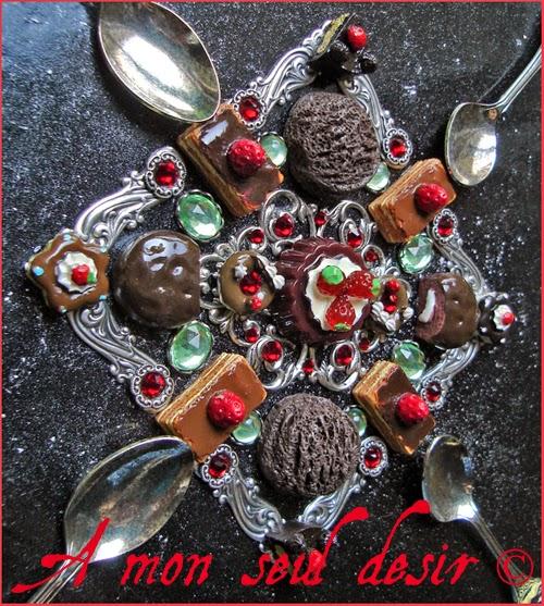 Coffret Boite à Bijoux Chocolat Gâteau Dessert Cacao MilleFeuille Pâtisserie Gourmand Gourmandises Cocoa Chocoholic Cake Jewelry Box Chocolate Fever