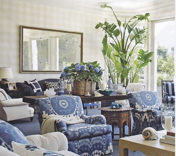 20 blue and white family living rooms the glam pad