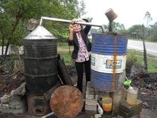 Phương pháp chế biến dầu tràm