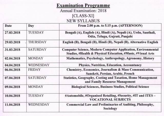 Polytechnic exam date 2016 west bengal