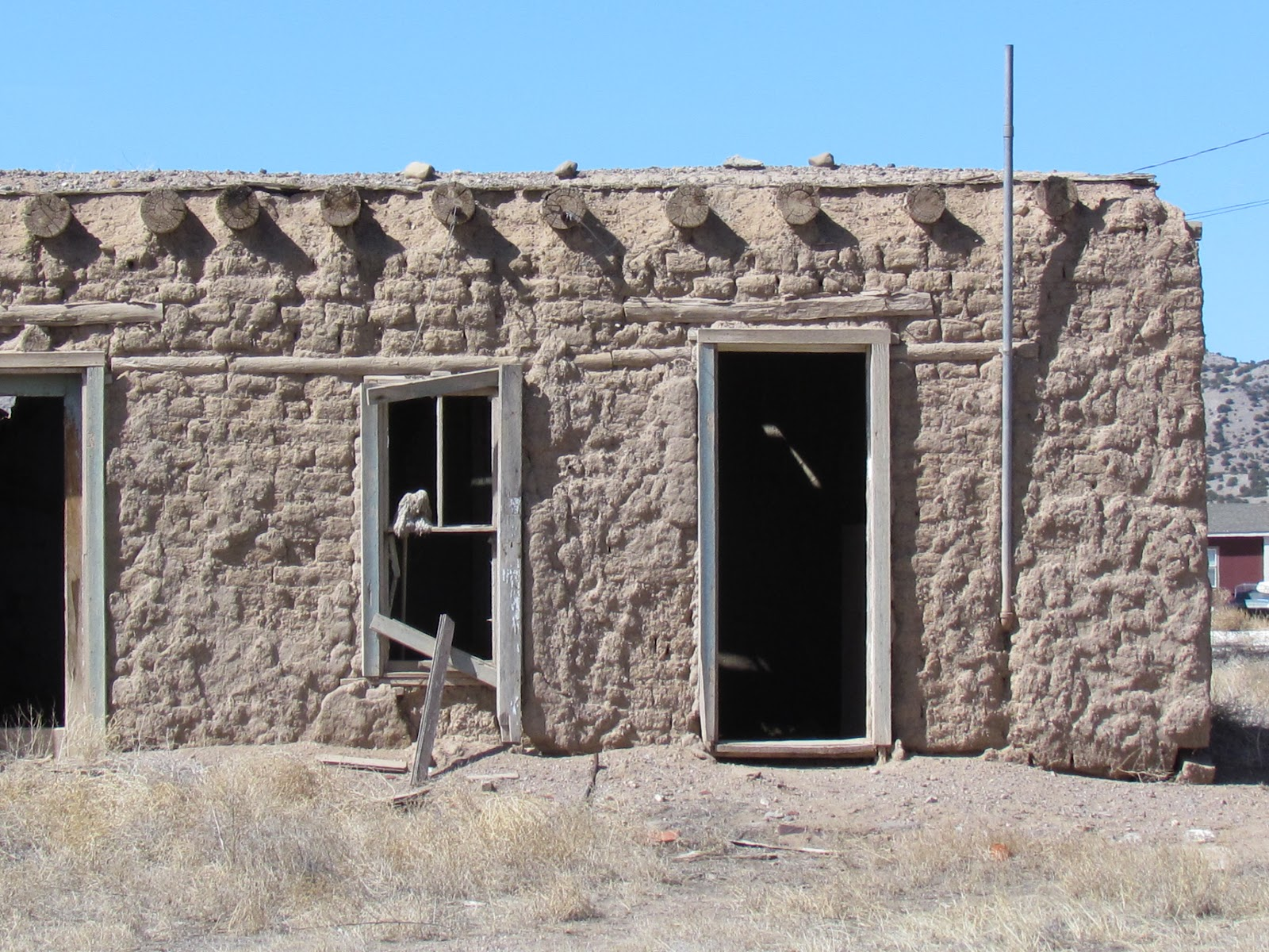 An old adobe for Adobe home builders