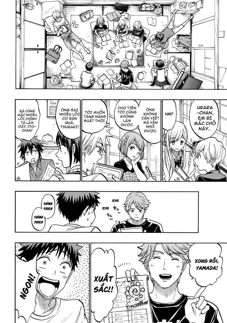 Yamada kun to 7 nin no Majo Chap 217 - Trang 10