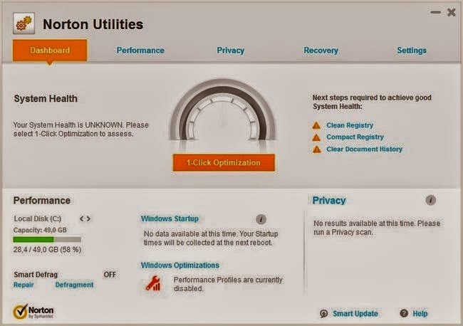Norton Utilities 16.0.2.14 Full Crack