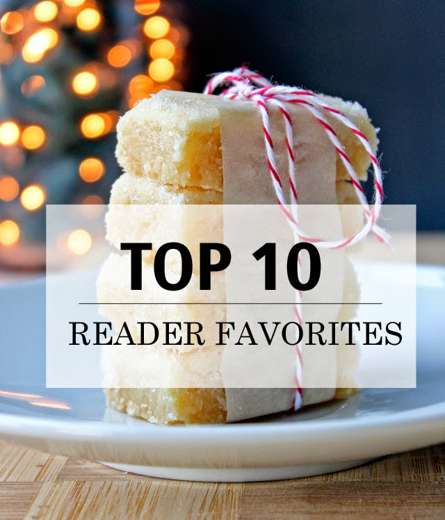 Top 10 Reader Favorite Recipe Posts | Recipes by chelsa-bea.com