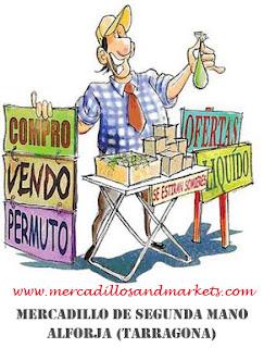 Mercadillos and markets mercadillo de segunda mano alforja - Muebles de segunda mano tarragona ...