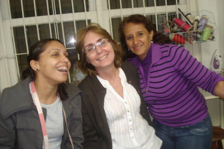 Rayliane, Graça e Antônia