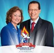 Presidente Apóstolo Paulo Corrêa e Pastora Eliane Corrêa