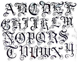 Download de Letras para tatuagens