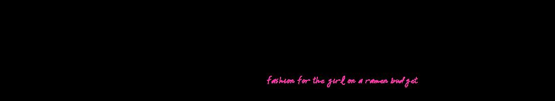 Ramen Couture