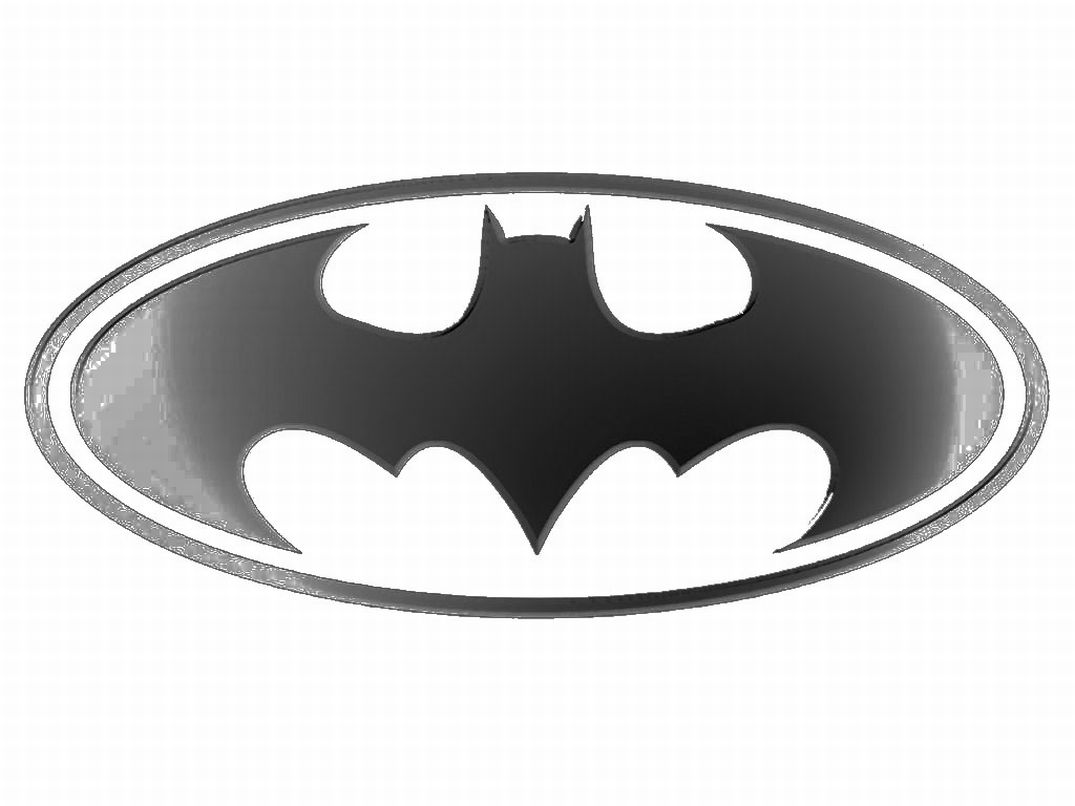 Kids Coloring Batman Logo Super