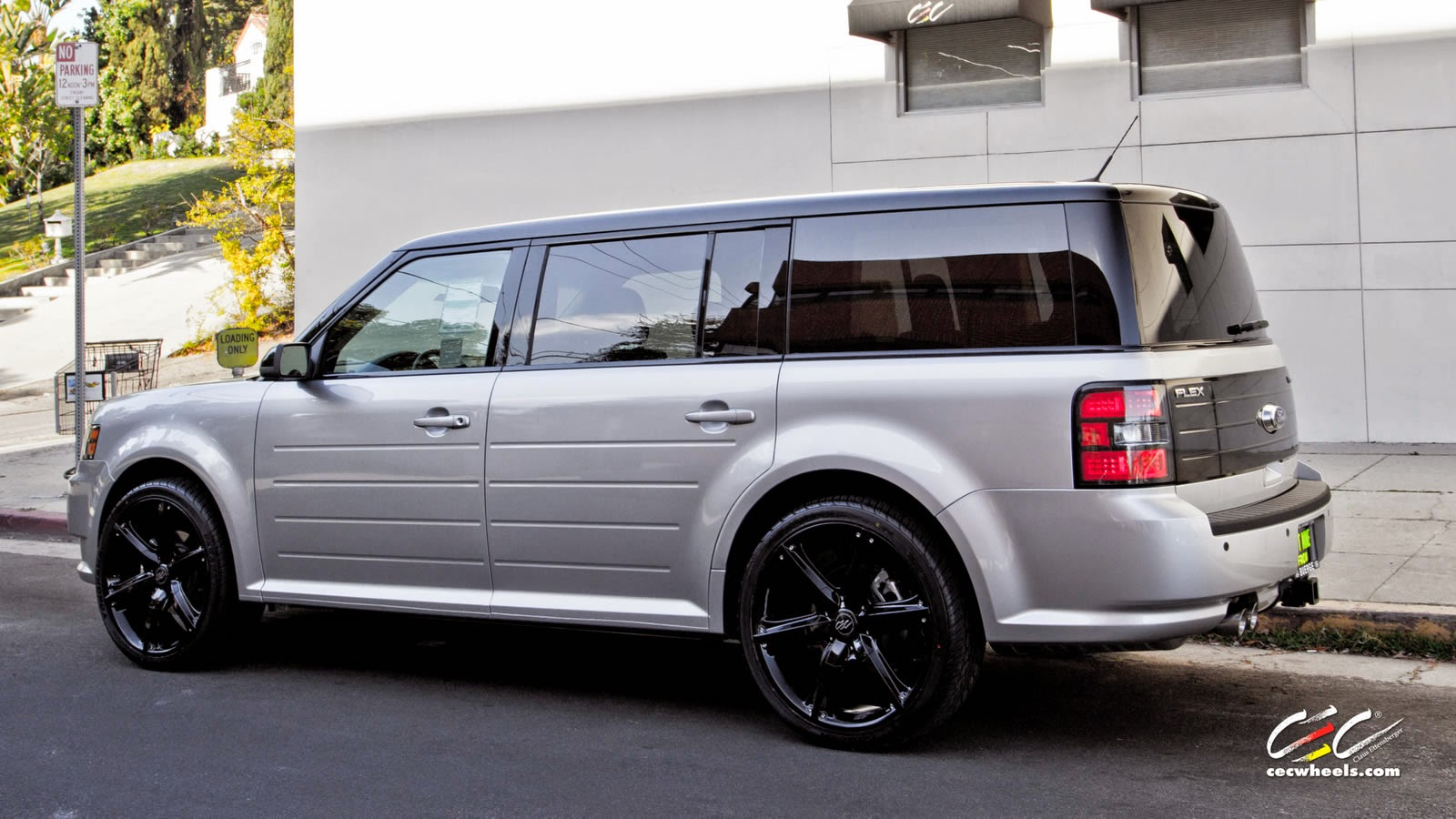 ford flex on c826 by cec wheels supercars show. Black Bedroom Furniture Sets. Home Design Ideas