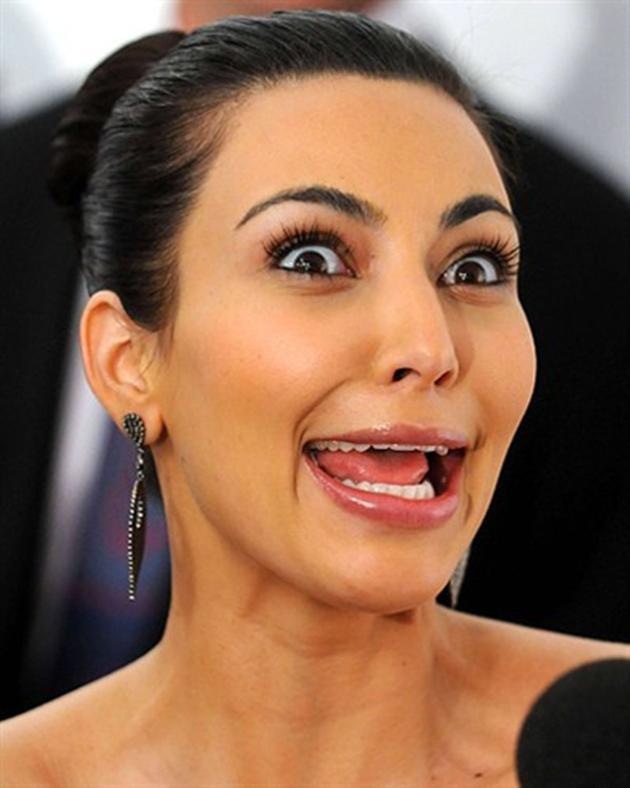 Funny Picture Of Kim Kardashian
