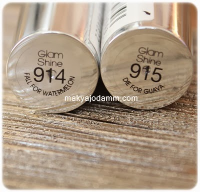 loreal glam shine rujlar