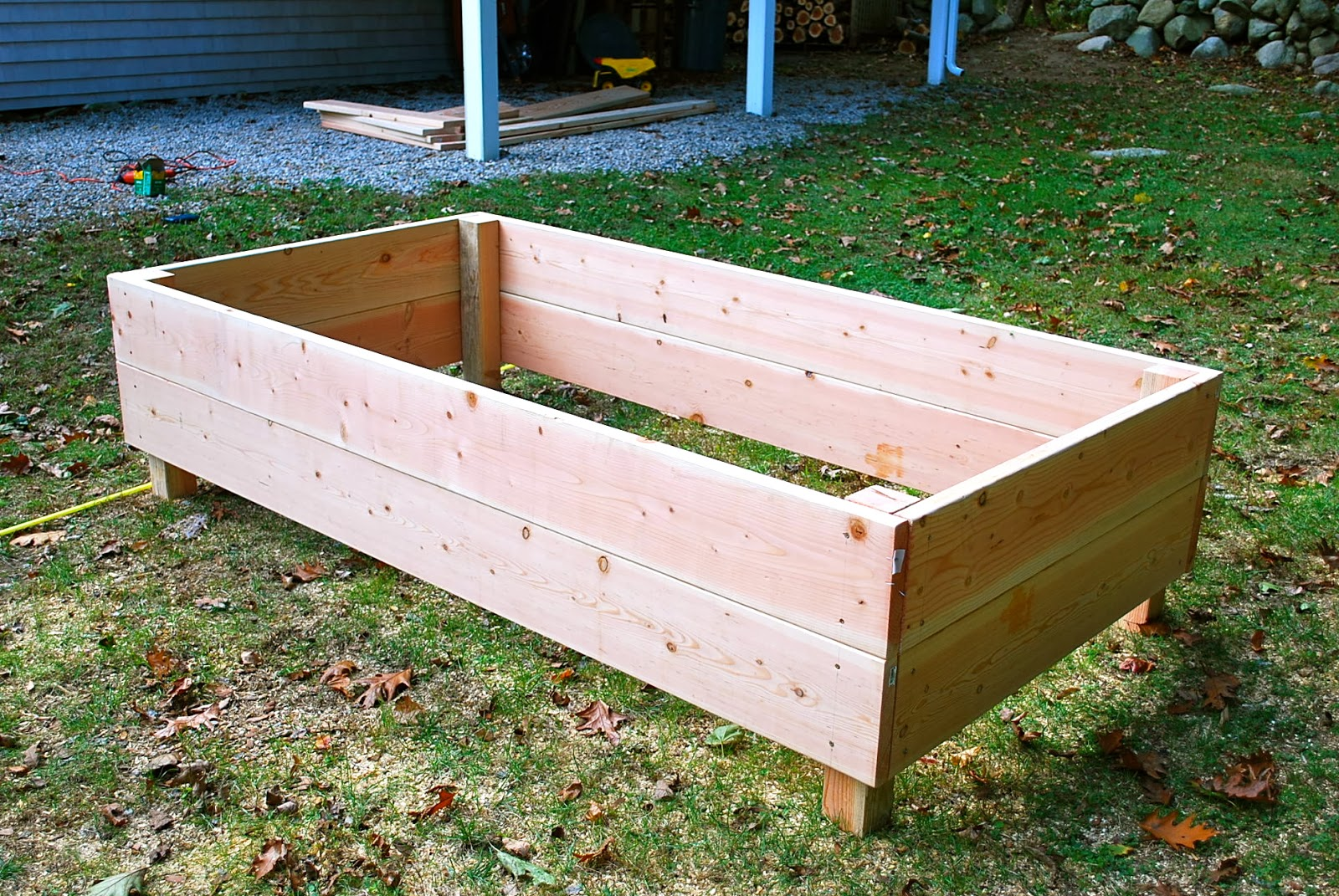 Building Raised Beds For The Vegetable Garden