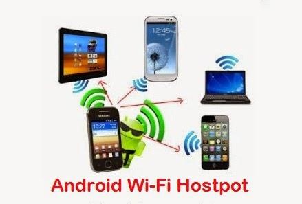 Cara Seting Hp Android Menjadi Hostpot