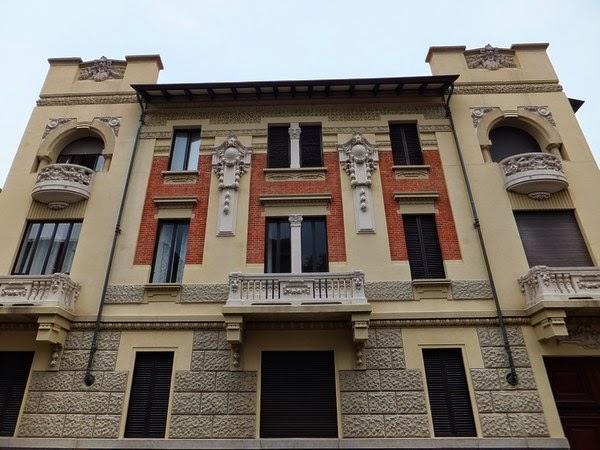 Turin Italie art nouveau Liberty