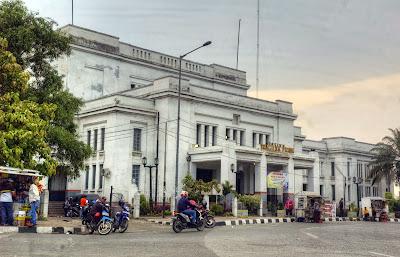 Tanjung Priok train station Jakarta